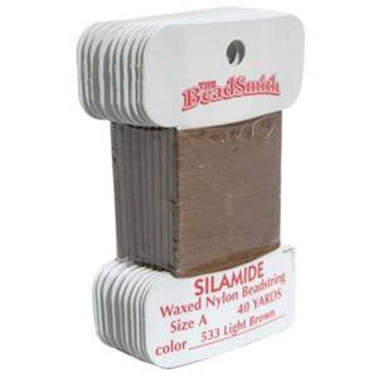 Silamide: 40 yard card - Light brown