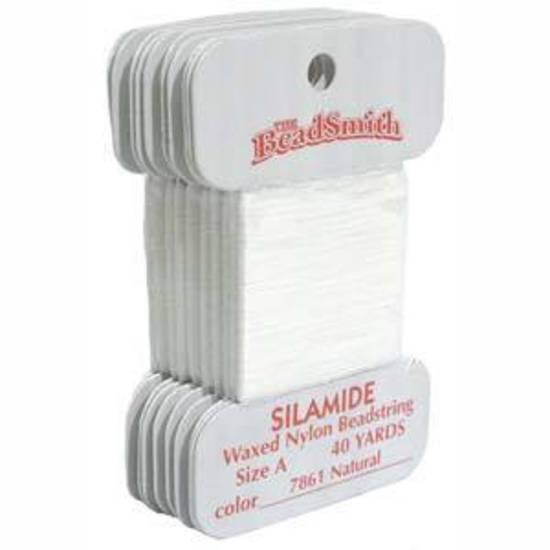 Silamide: 40 yard card - Natural