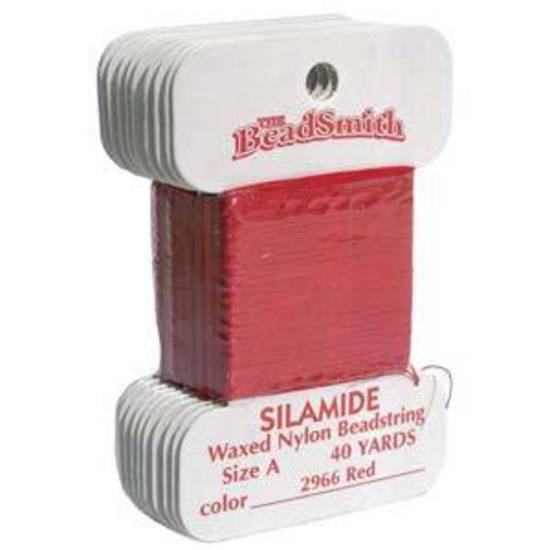 Silamide: 40 yard card - Red