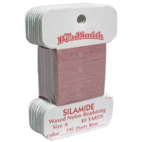 Silamide: 40 yard card - Dusky Rose