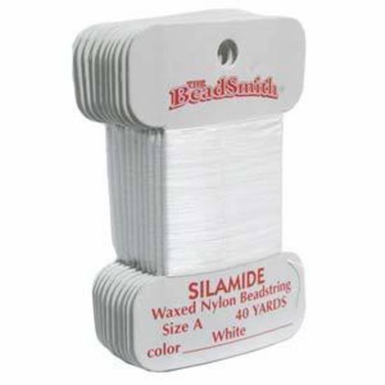 Silamide: 40 yard card - White