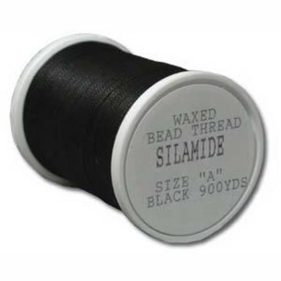 Silamide: 900 yard spool - Black