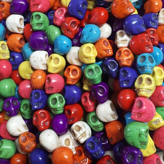Large Skull Strand (23 beads)
