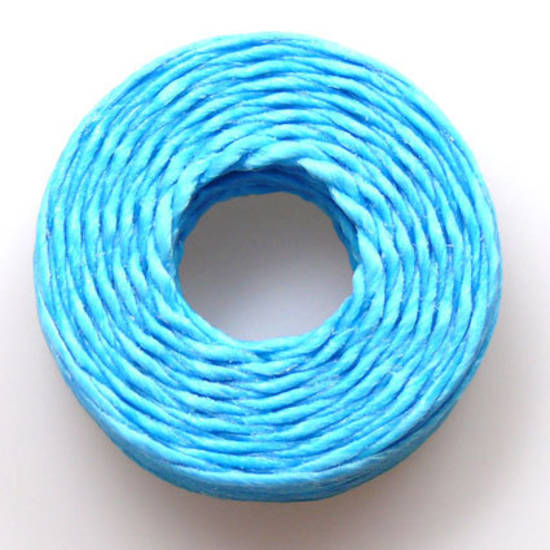 1mm Cotton 'Sinew' Cord - Aqua