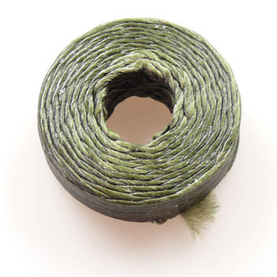 1mm Cotton 'Sinew' Cord - Forest Green