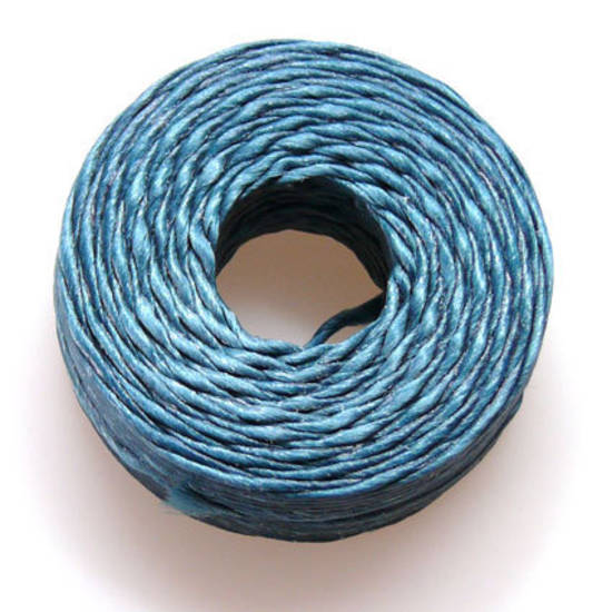 1mm Cotton 'Sinew' Cord - Dark Teal