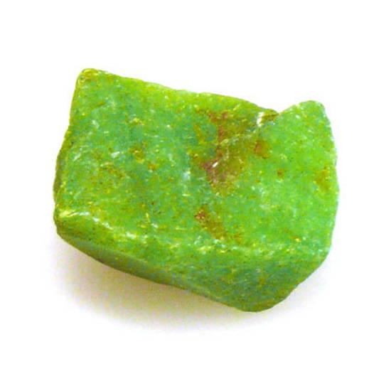 Semi Precious, Rough Dyed Jade, lime green