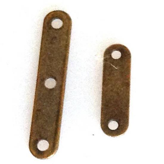 Spacer Bar, plain, brass