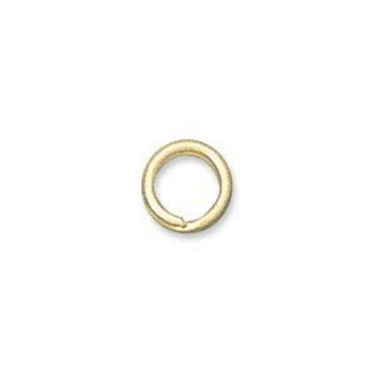 6mm Split Ring, gold