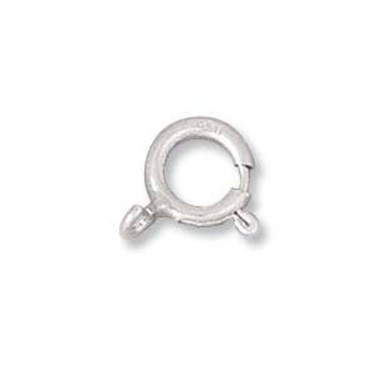 Spring Clasp, sterling silver 7mm