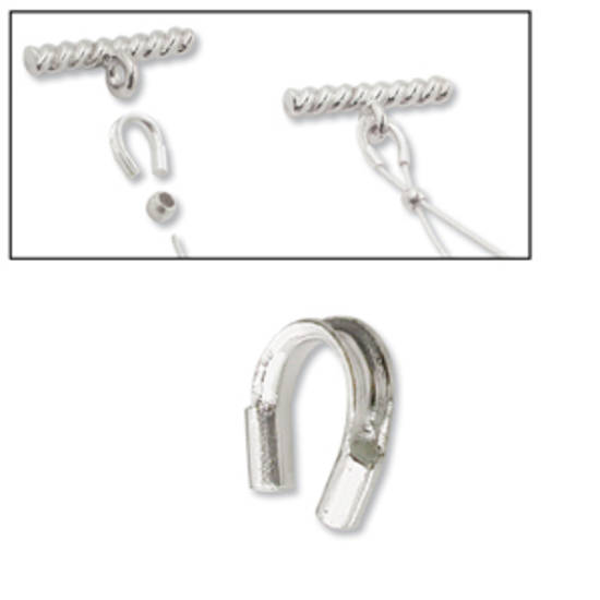 Wire Protector: Sterling Silver