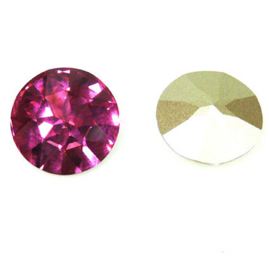 27mm Swarovski 1201 Large Stone, Rose