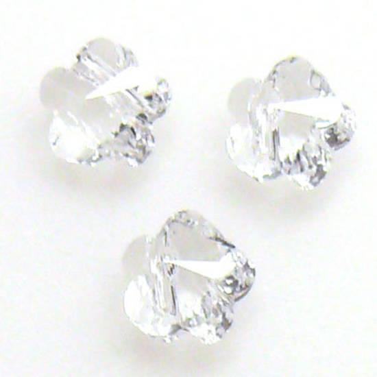 Swarovski Crystal 5mm Flower, Crystal