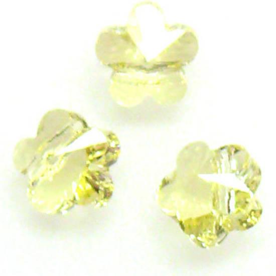 Swarovski Crystal 5mm Flower, Jonquil