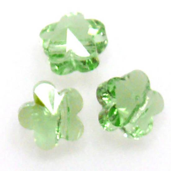 Swarovski Crystal 5mm Flower, Peridot