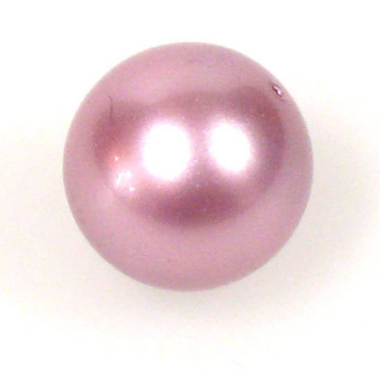 12mm Round Swarovski Pearl, Powder Rose