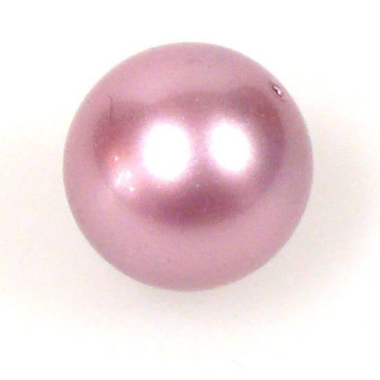 4mm Round Swarovski Pearl, Powder Rose