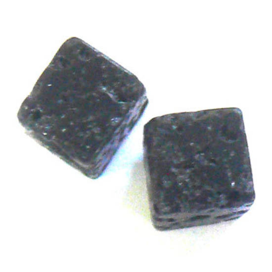 Lava Rock, square, 6mm