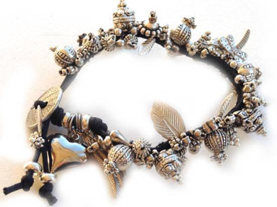 Metallic Garden Bracelet KITSET: Silverado