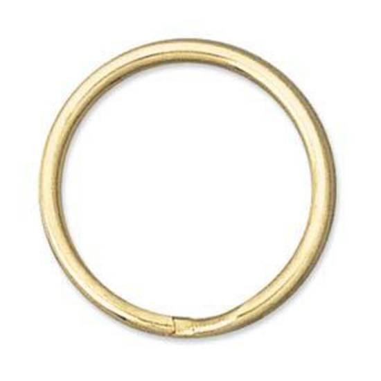 24mm Split Ring, gold