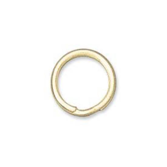 9mm Split Ring, gold