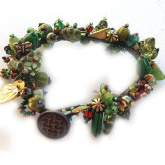 Vineyard Garden Bracelet KITSET: Summer Vine