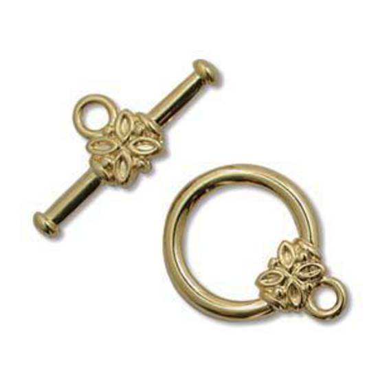 NEW! Toggle: Butterfly detail - gold