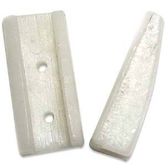 Replacement Nylon Jaw Tips: Flat Nose