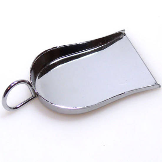 Metal Scoop with handle - large