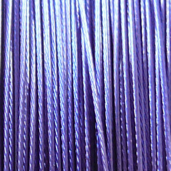 Tigertail Beading Wire: 100m roll - Purpley/Blue