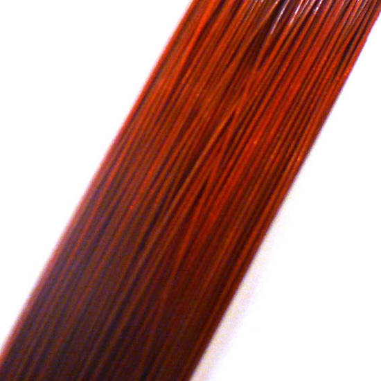 Tigertail Beading Wire: 100m roll -  Red