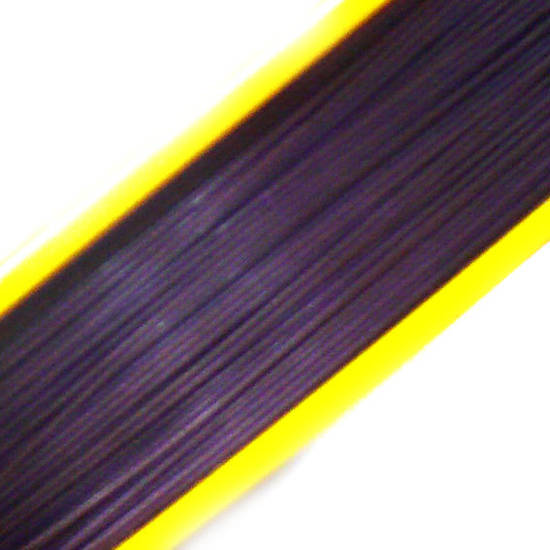 Tigertail Beading Wire: 100m - Violet (A grade)