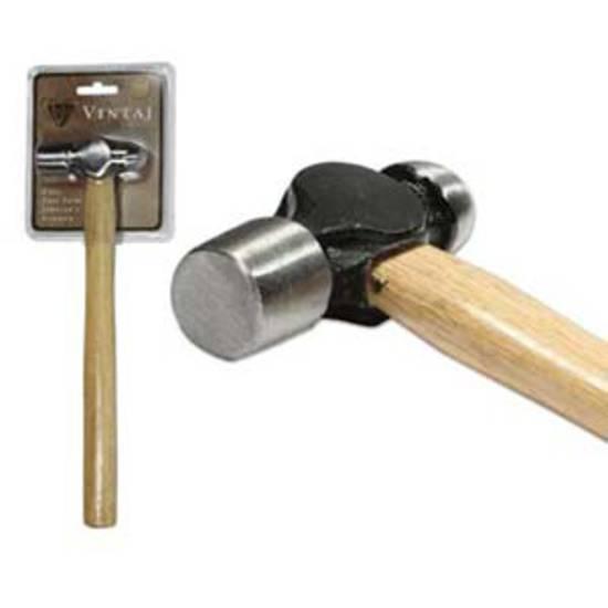 Vintaj Ball Pein Hammer (28cm long) - 8 oz
