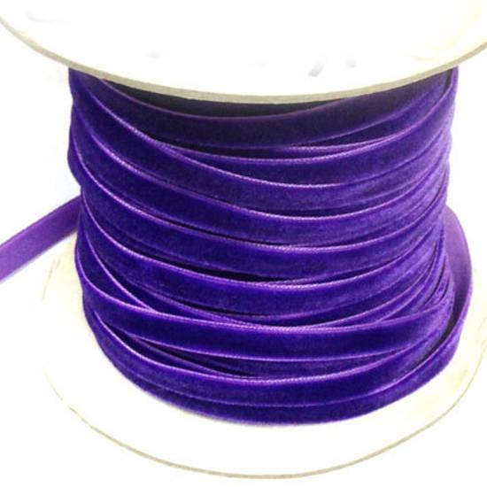 Velvet Ribbon - Royal Purple