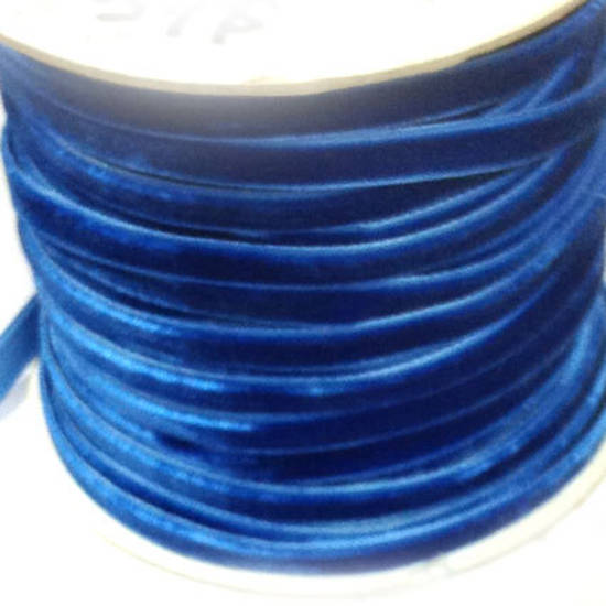 Velvet Ribbon - Royal Blue