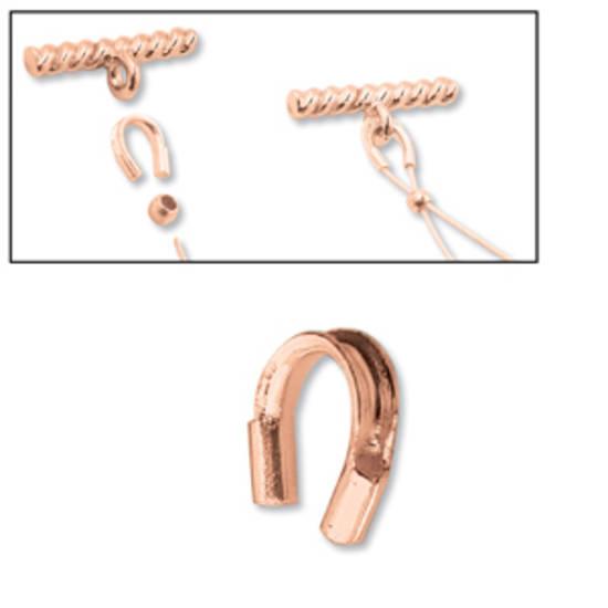 Wire Protector: Bright Copper