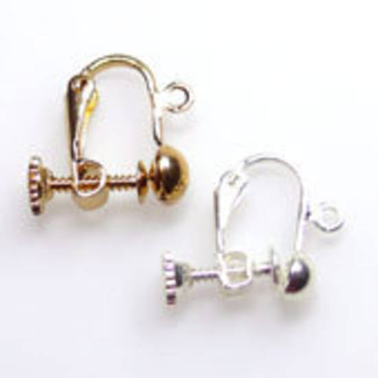 Clip/ Scew Earring, one pair