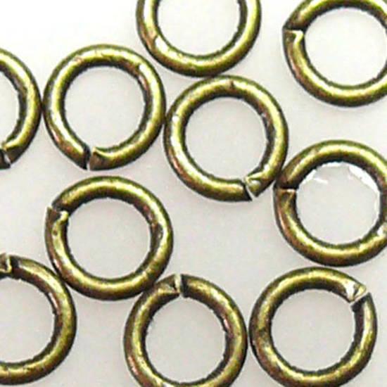 4mm Jumpring: Brass