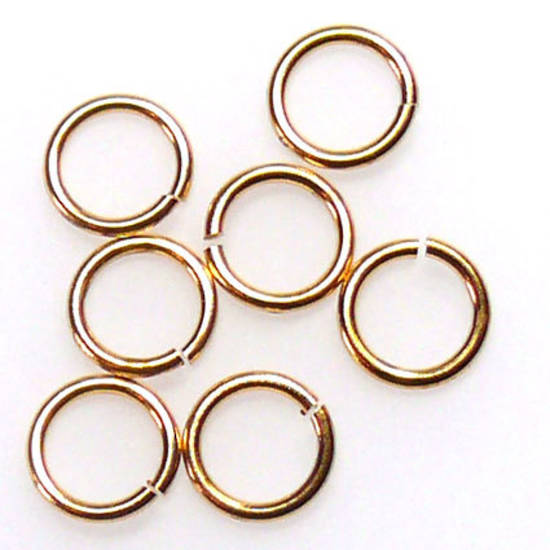 6mm Jumpring: Gold