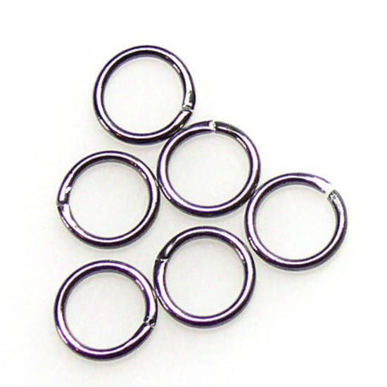 8mm Jumpring: Gunmetal