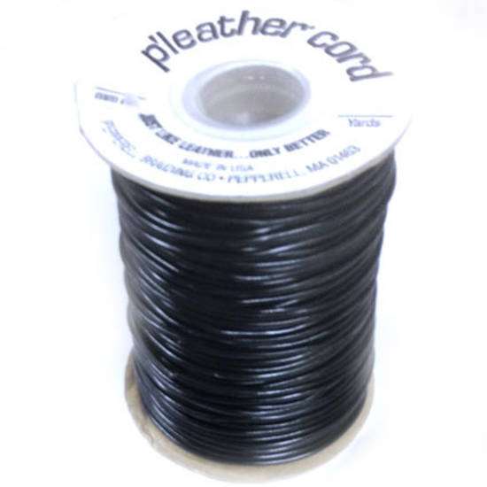 P'leather Cord, 2mm round