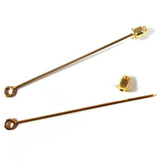 Small Stick Pin - Gold