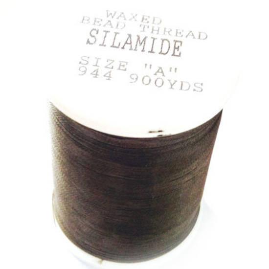 Silamide: 900 yard spool - Medium Grey