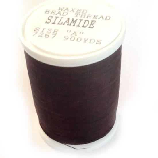 Silamide: 900 yard spool - Wine