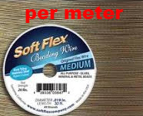 NEW! Medium Softflex: Bronze - 1 metre