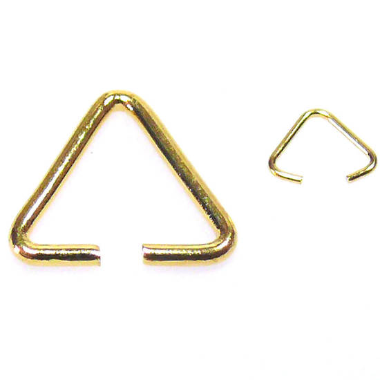 Triangle Bail, gold
