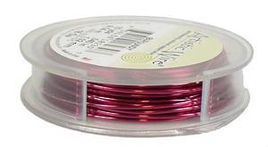 Artistic Wire: 18 gauge, Burgandy