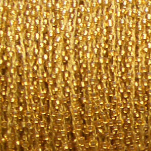 Ready Crocheted Thread - gold