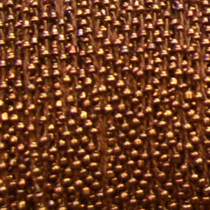 Ready Crocheted Thread - coppery bronze