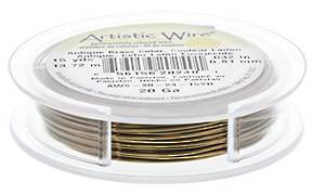 Artistic Wire, Antique Brass, 20 gauge